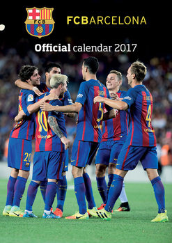 Barcelona + 12 free stickers Calendrier 2017