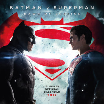 Batman vs Superman Calendrier 2017