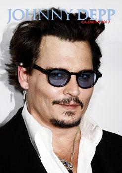 Johnny Depp Calendrier 2017