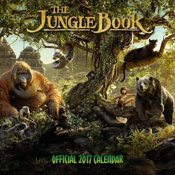Le Livre de la Jungle Calendrier 2017