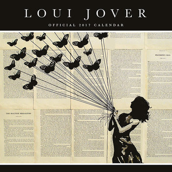 Loui Jover Calendrier 2017
