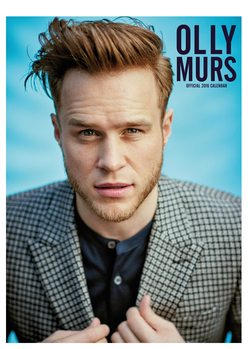 Olly Murs Calendrier 2017