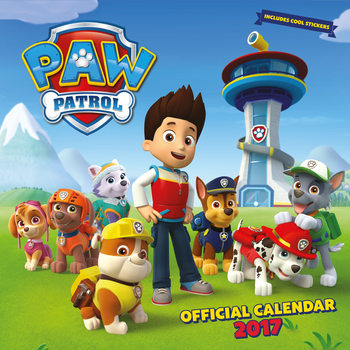 Paw Patrol Calendrier 2017