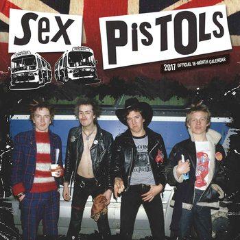 Sex Pistols Calendrier 2017