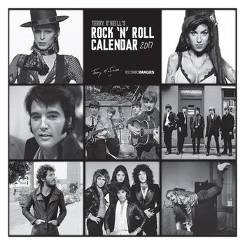 Terry O'Neill's Rock 'n' Roll  Calendrier 2017