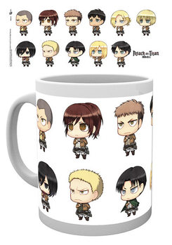 Caneca Attack on Titan - All Chimis