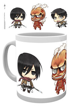 Caneca Attack on Titan - Chibi 2