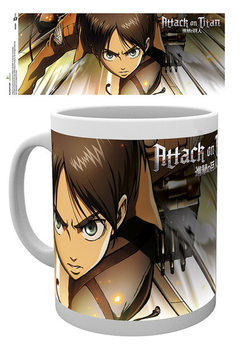 Caneca Attack on Titan (Shingeki no kyojin) - Attack