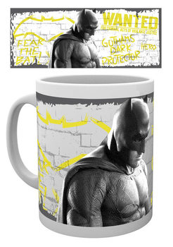 Caneca Batman v Superman: Dawn of Justice - Wanted