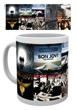 Caneca Bon Jovi - Albums