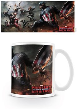 Caneca Captain America: Civil War - Battle