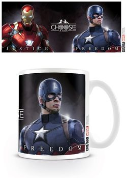 Caneca Captain America: Civil War - Choose A Side