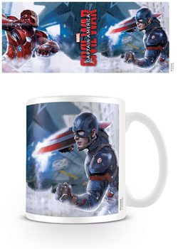 Caneca Captain America: Civil War - War
