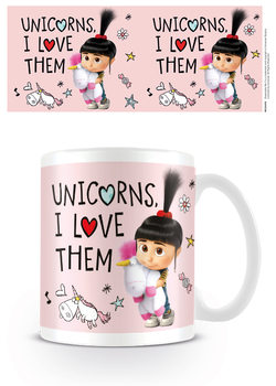 Caneca Despicable Me 3 - Unicorns I Love them