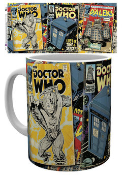 Caneca Doctor Who - Comics