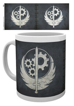 Caneca Fallout - Brotherhood of steel