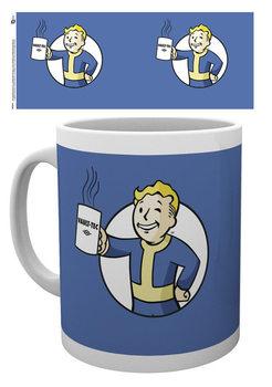 Caneca Fallout - Vault Boy Holding Mug