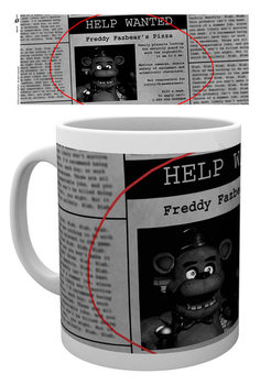 Caneca Five Nights At Freddy's - Help Wanted
