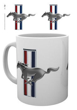 Caneca Ford - Mustang Logo