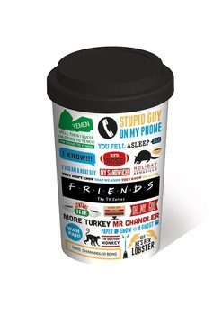 Caneca Friends - Iconographic Travel Mug