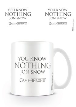 Caneca Game of Thrones - You Know Nothing Jon Snow