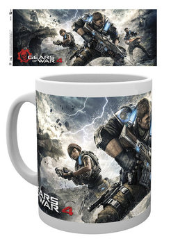 Caneca Gears Of War 4 - Game Cover