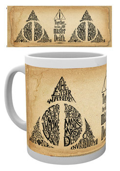 Caneca Harry Potter - Deathly Hallows Words