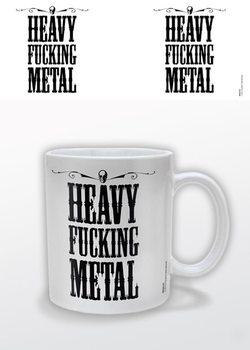 Caneca Heavy Fucking Metal