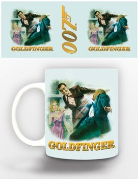 Caneca James Bond - goldfinger
