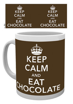 Caneca Keep Calm and Eat Chocolate