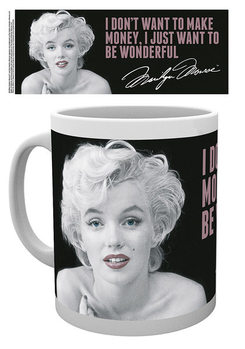 Caneca Marilyn Monroe - Quote