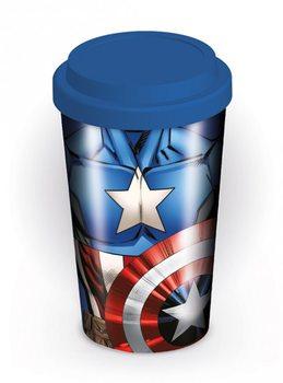 Caneca Marvel - Captain America Torso