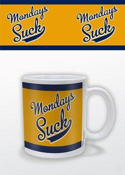 Caneca Mondays Suck