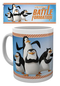Caneca Penguins of Madagascar - Battle Formation