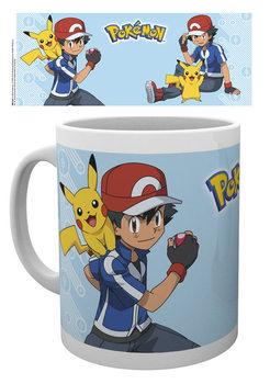 Caneca Pokémon - Ash