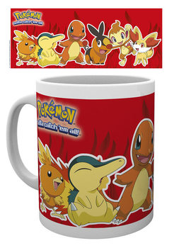 Caneca Pokémon - Fire Partners