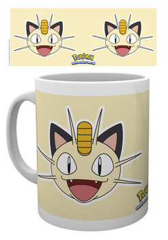 Caneca Pokémon - Meowth Face