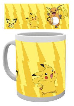 Caneca Pokémon - Pikachu Evolve