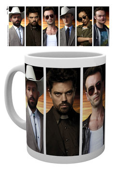Caneca Preacher - Characters