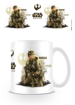 Caneca Rogue One: Star Wars Story - Jyn Profile