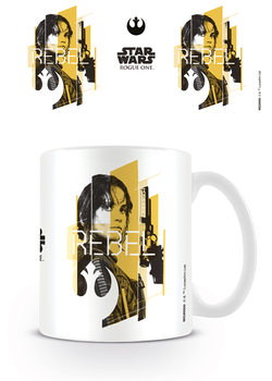 Caneca Rogue One: Star Wars Story - Jyn Rebel