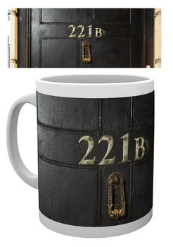 Caneca Sherlock - 221B