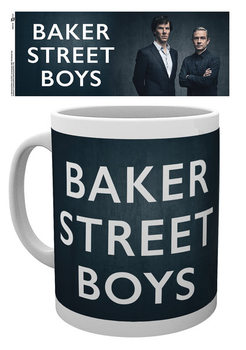 Caneca Sherlock - Baker Street Boys