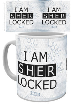 Caneca Sherlock - Sherlocked