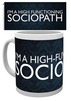 Caneca Sherlock - Sociopath