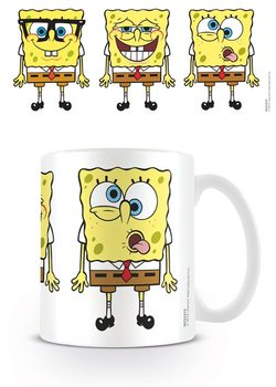 Caneca Spongebob - Faces