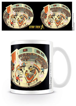 Caneca Star Trek: 50th Anniversary - Bridge Crew