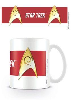 Caneca Star Trek - Engineering Red