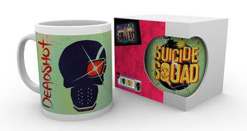 Caneca Suicide Squad - Deadshot Skull