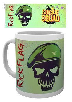 Caneca Suicide Squad - Flag Skull